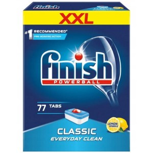 Tabletki do zmywarki Finish Classic • 77szt
